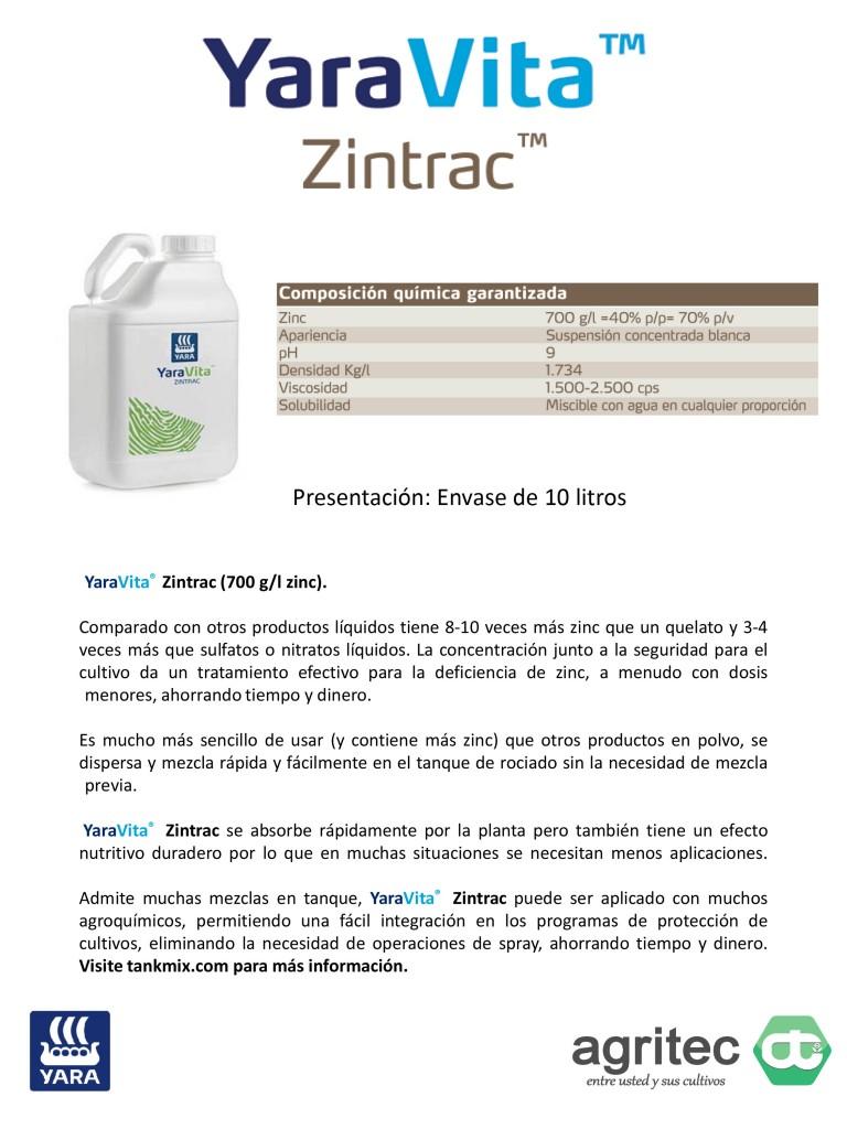 Microsoft PowerPoint - Productos Yara Agritec - YaraVita 2